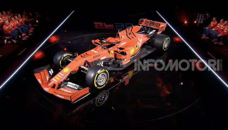 F1 2019: presentata la nuova Ferrari SF90 - Foto 6 di 12