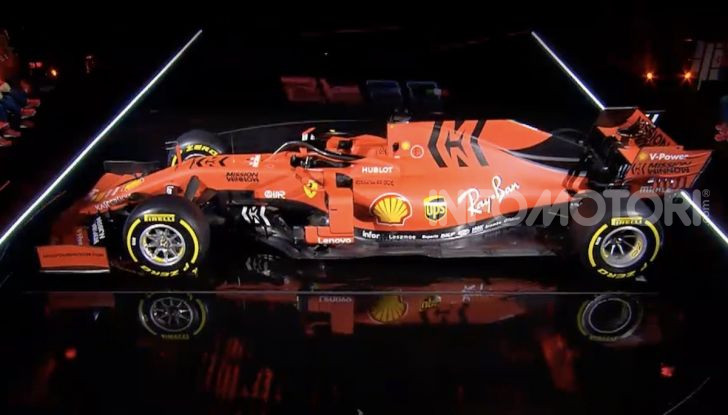 F1 2019: presentata la nuova Ferrari SF90 - Foto 7 di 12