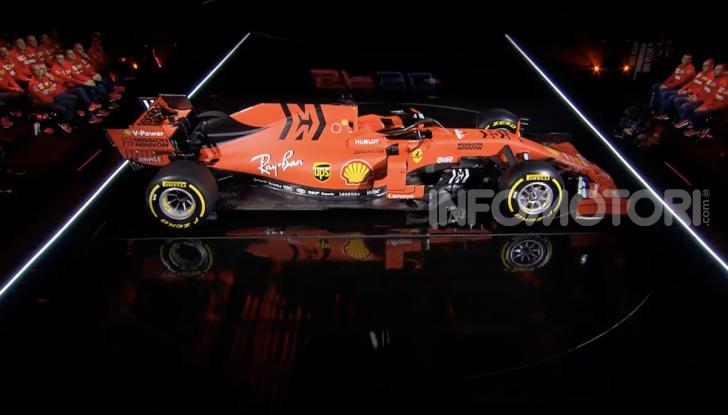 F1 2019: presentata la nuova Ferrari SF90 - Foto 8 di 12