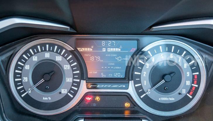 Prova Honda Forza 300, caratteristiche, opinioni e prezzo di uno dei migliori media cilindrata - Foto 5 di 55
