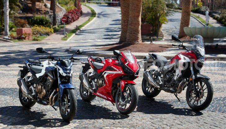 Prova Honda CBR500R e CB500F 2019: caratteristiche, opinioni e prezzi - Foto 1 di 123