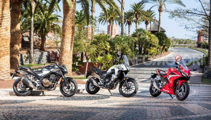 Prova Honda CBR500R e CB500F 2019: caratteristiche, opinioni e prezzi - Foto 2 di 123