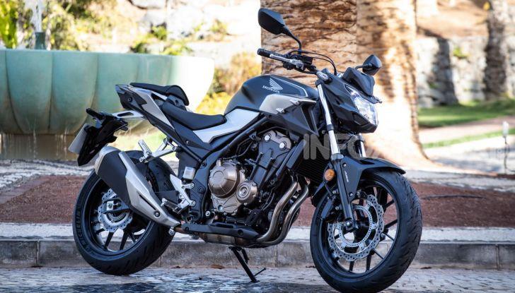 Prova Honda CBR500R e CB500F 2019: caratteristiche, opinioni e prezzi - Foto 3 di 123