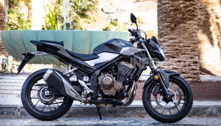 Prova Honda CBR500R e CB500F 2019: caratteristiche, opinioni e prezzi - Foto 4 di 123