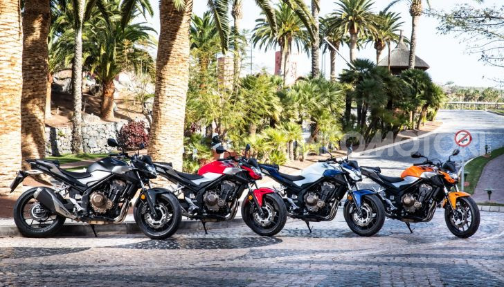 Prova Honda CBR500R e CB500F 2019: caratteristiche, opinioni e prezzi - Foto 5 di 123