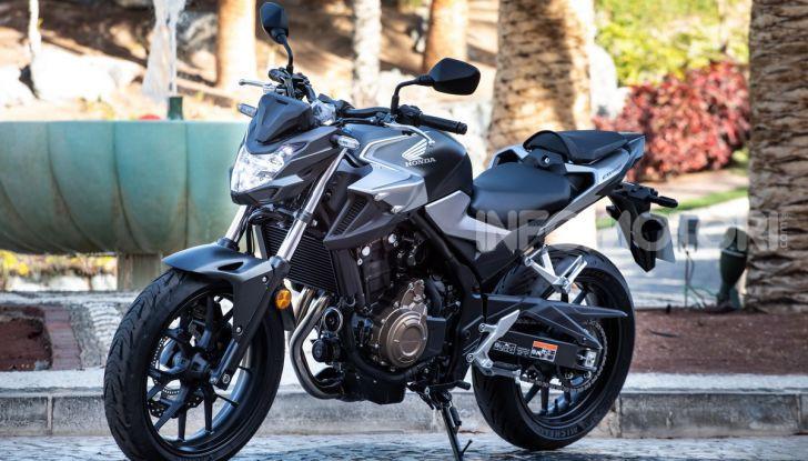 Prova Honda CBR500R e CB500F 2019: caratteristiche, opinioni e prezzi - Foto 6 di 123