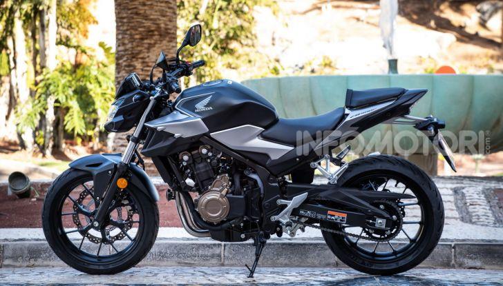 Prova Honda CBR500R e CB500F 2019: caratteristiche, opinioni e prezzi - Foto 7 di 123