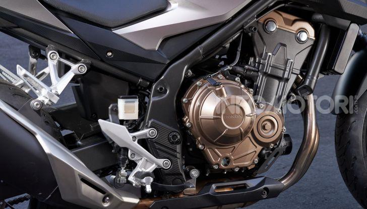 Prova Honda CBR500R e CB500F 2019: caratteristiche, opinioni e prezzi - Foto 10 di 123