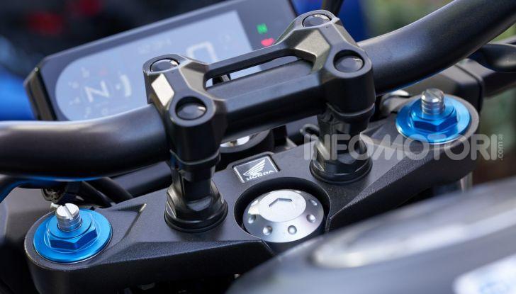 Prova Honda CBR500R e CB500F 2019: caratteristiche, opinioni e prezzi - Foto 15 di 123