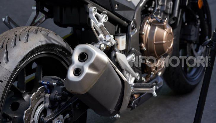 Prova Honda CBR500R e CB500F 2019: caratteristiche, opinioni e prezzi - Foto 21 di 123