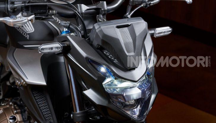 Prova Honda CBR500R e CB500F 2019: caratteristiche, opinioni e prezzi - Foto 25 di 123