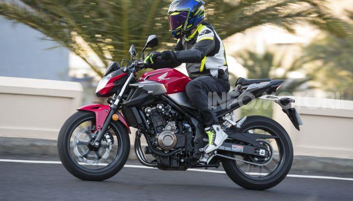 Prova Honda CBR500R e CB500F 2019: caratteristiche, opinioni e prezzi - Foto 73 di 123