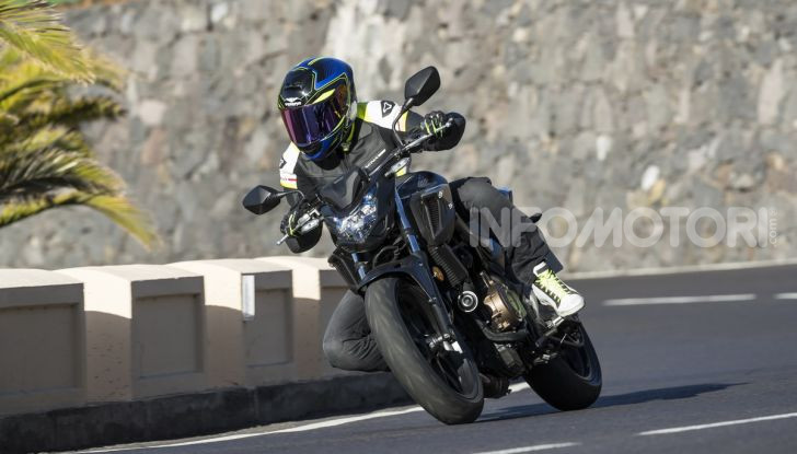 Prova Honda CBR500R e CB500F 2019: caratteristiche, opinioni e prezzi - Foto 74 di 123