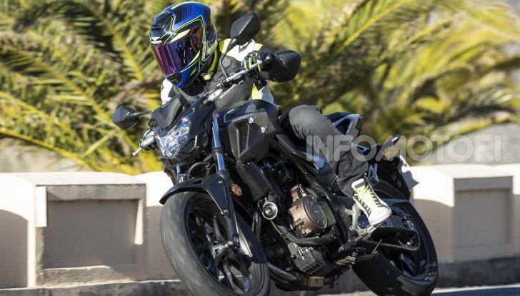 Prova Honda CBR500R e CB500F 2019: caratteristiche, opinioni e prezzi - Foto 76 di 123