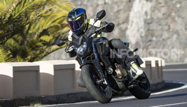 Prova Honda CBR500R e CB500F 2019: caratteristiche, opinioni e prezzi - Foto 77 di 123