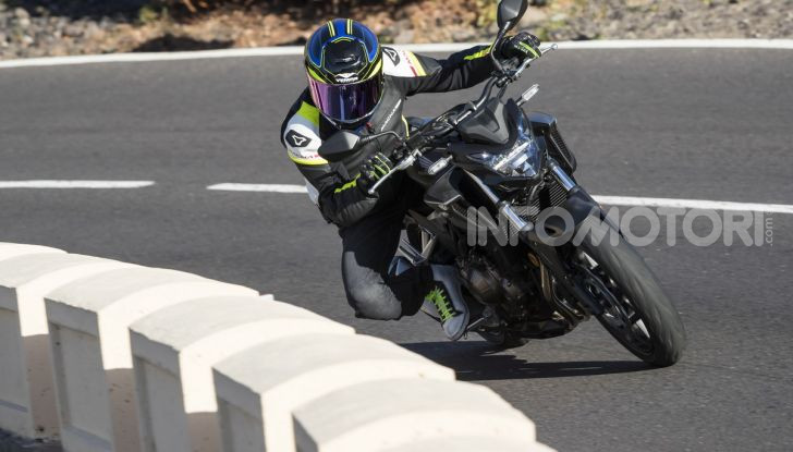 Prova Honda CBR500R e CB500F 2019: caratteristiche, opinioni e prezzi - Foto 81 di 123