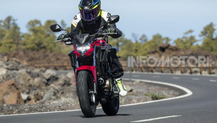 Prova Honda CBR500R e CB500F 2019: caratteristiche, opinioni e prezzi - Foto 82 di 123