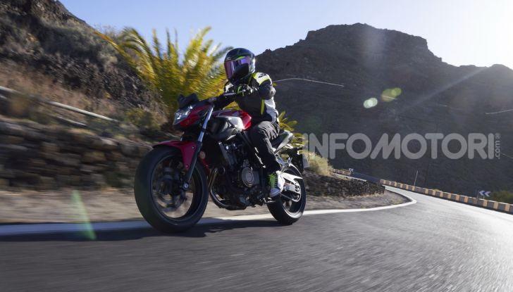 Prova Honda CBR500R e CB500F 2019: caratteristiche, opinioni e prezzi - Foto 83 di 123