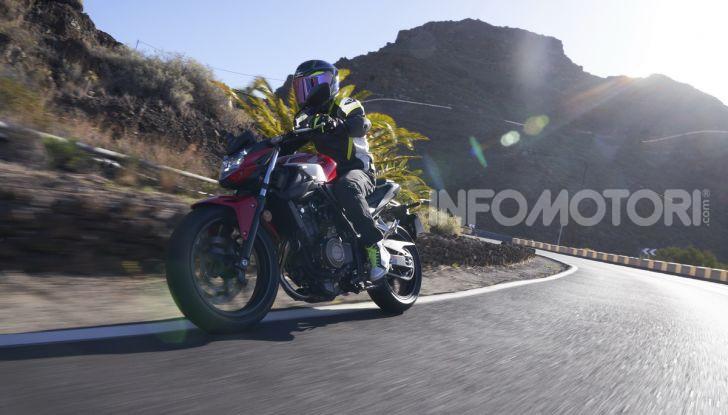Prova Honda CBR500R e CB500F 2019: caratteristiche, opinioni e prezzi - Foto 84 di 123