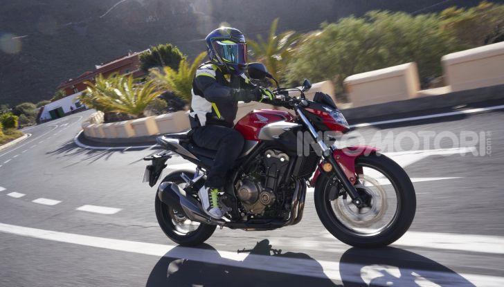 Prova Honda CBR500R e CB500F 2019: caratteristiche, opinioni e prezzi - Foto 86 di 123