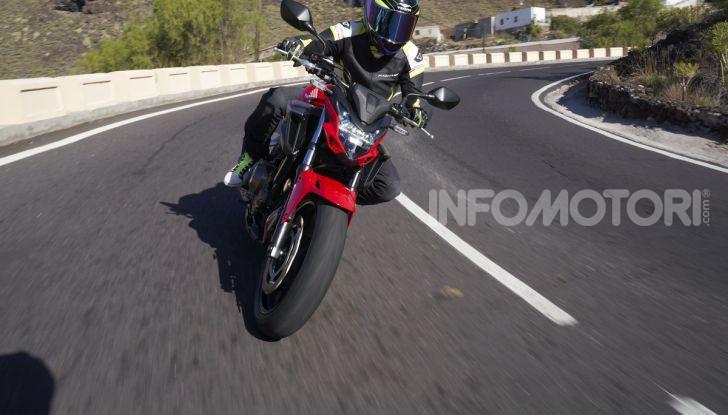 Prova Honda CBR500R e CB500F 2019: caratteristiche, opinioni e prezzi - Foto 87 di 123
