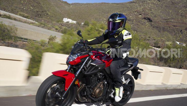 Prova Honda CBR500R e CB500F 2019: caratteristiche, opinioni e prezzi - Foto 88 di 123