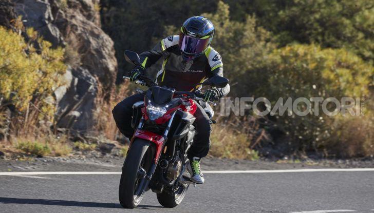 Prova Honda CBR500R e CB500F 2019: caratteristiche, opinioni e prezzi - Foto 89 di 123