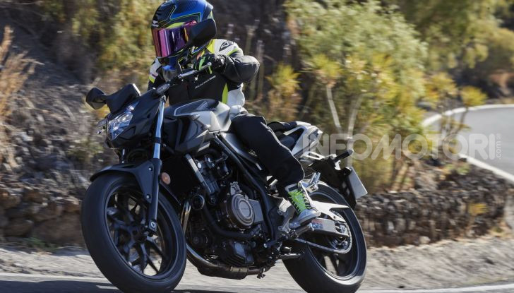 Prova Honda CBR500R e CB500F 2019: caratteristiche, opinioni e prezzi - Foto 92 di 123