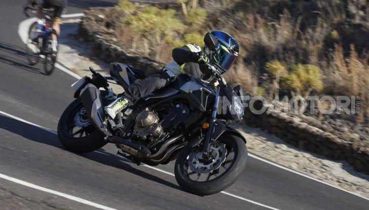 Prova Honda CBR500R e CB500F 2019: caratteristiche, opinioni e prezzi - Foto 94 di 123