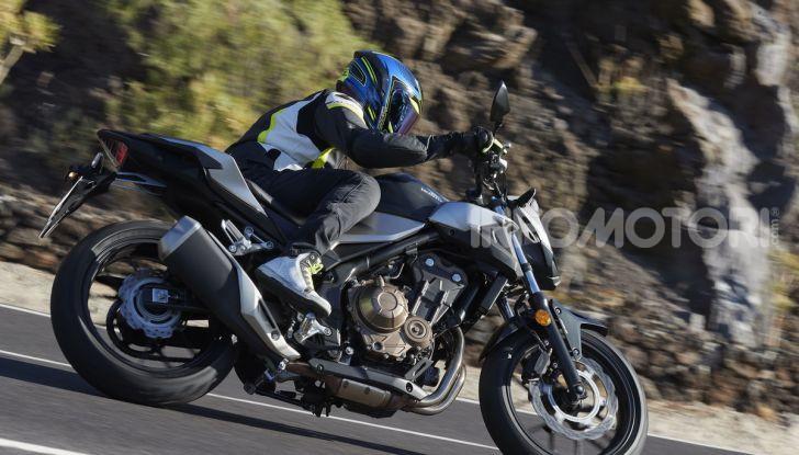 Prova Honda CBR500R e CB500F 2019: caratteristiche, opinioni e prezzi - Foto 95 di 123