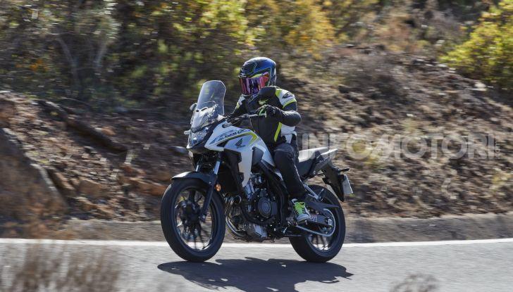 Prova Honda CB500X 2019: 19″ all'anteriore, caratteristiche, prezzo e impressioni - Foto 35 di 42
