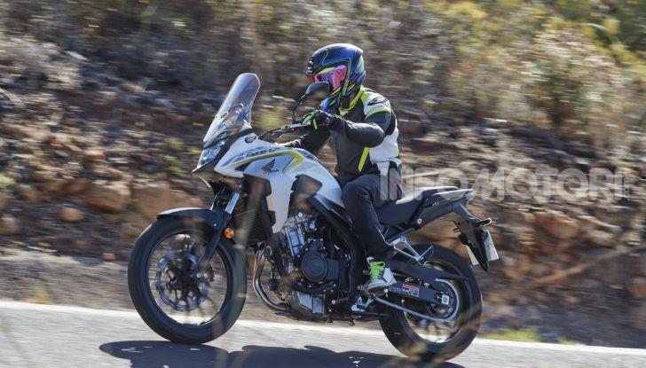 Prova Honda CB500X 2019: 19″ all'anteriore, caratteristiche, prezzo e impressioni - Foto 37 di 42