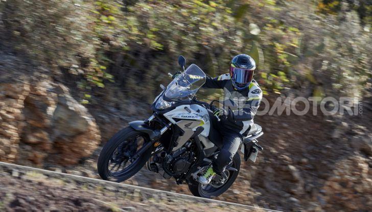 Prova Honda CB500X 2019: 19″ all'anteriore, caratteristiche, prezzo e impressioni - Foto 38 di 42