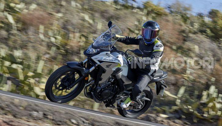 Prova Honda CB500X 2019: 19″ all'anteriore, caratteristiche, prezzo e impressioni - Foto 39 di 42