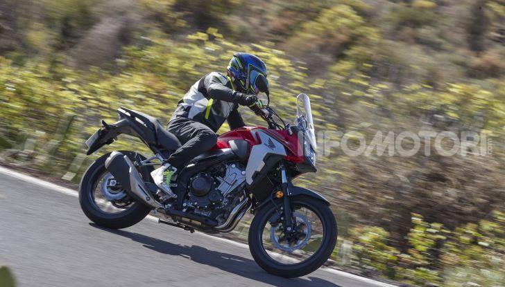 Prova Honda CB500X 2019: 19″ all'anteriore, caratteristiche, prezzo e impressioni - Foto 40 di 42