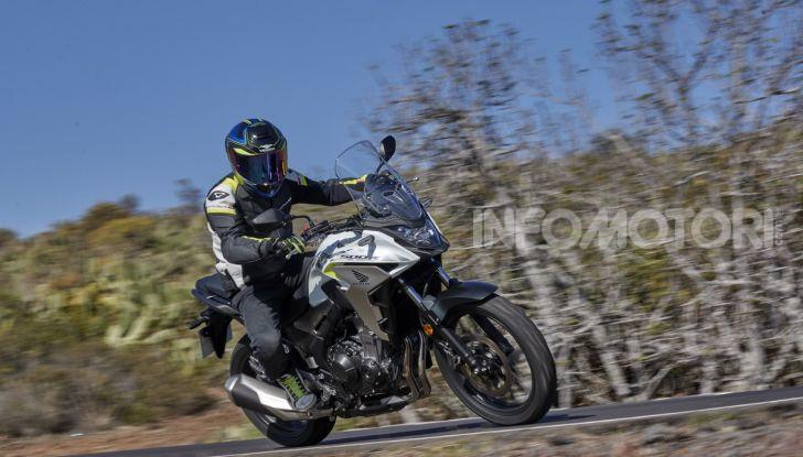 Prova Honda CB500X 2019: 19″ all'anteriore, caratteristiche, prezzo e impressioni - Foto 41 di 42