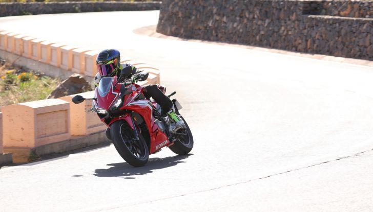 Prova Honda CBR500R e CB500F 2019: caratteristiche, opinioni e prezzi - Foto 31 di 123