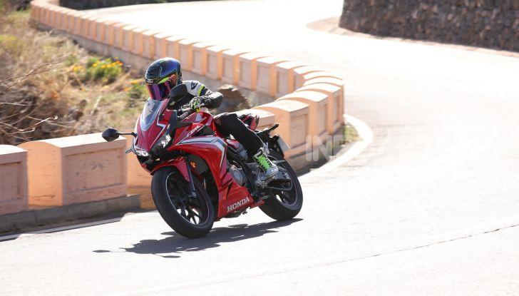 Prova Honda CBR500R e CB500F 2019: caratteristiche, opinioni e prezzi - Foto 32 di 123