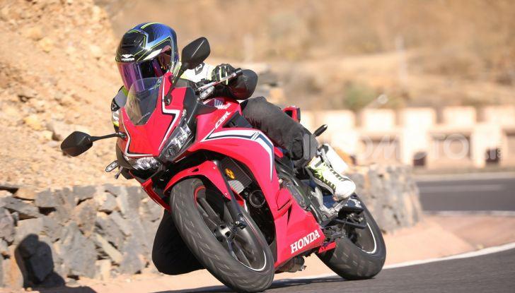 Prova Honda CBR500R e CB500F 2019: caratteristiche, opinioni e prezzi - Foto 36 di 123