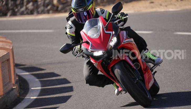 Prova Honda CBR500R e CB500F 2019: caratteristiche, opinioni e prezzi - Foto 38 di 123