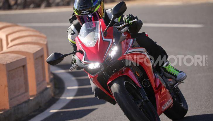 Prova Honda CBR500R e CB500F 2019: caratteristiche, opinioni e prezzi - Foto 39 di 123