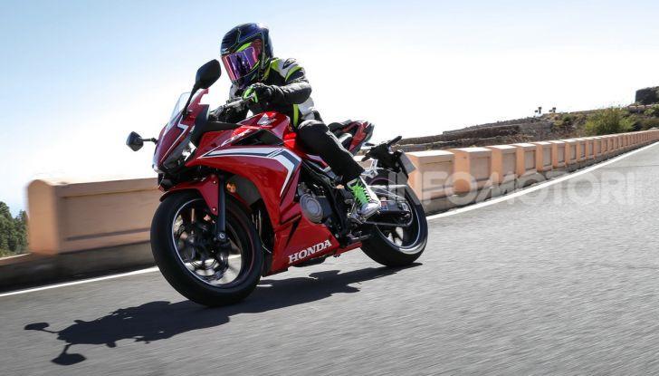 Prova Honda CBR500R e CB500F 2019: caratteristiche, opinioni e prezzi - Foto 99 di 123