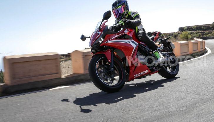 Prova Honda CBR500R e CB500F 2019: caratteristiche, opinioni e prezzi - Foto 100 di 123