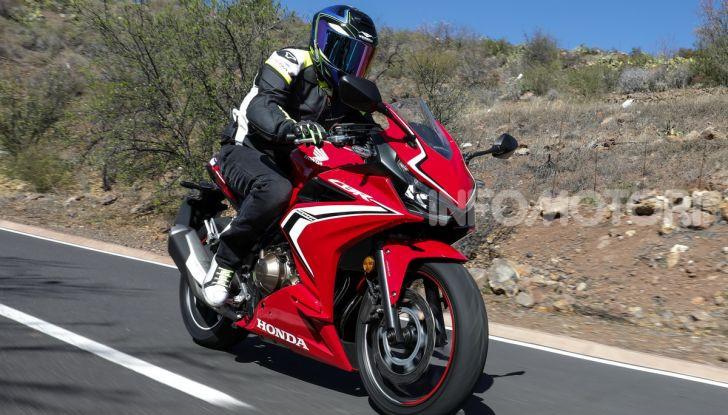Prova Honda CBR500R e CB500F 2019: caratteristiche, opinioni e prezzi - Foto 102 di 123