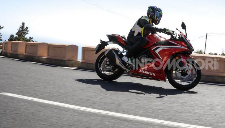Prova Honda CBR500R e CB500F 2019: caratteristiche, opinioni e prezzi - Foto 103 di 123