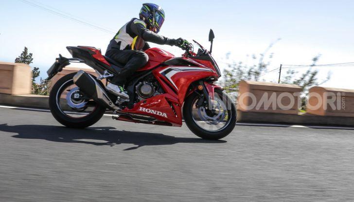 Prova Honda CBR500R e CB500F 2019: caratteristiche, opinioni e prezzi - Foto 106 di 123