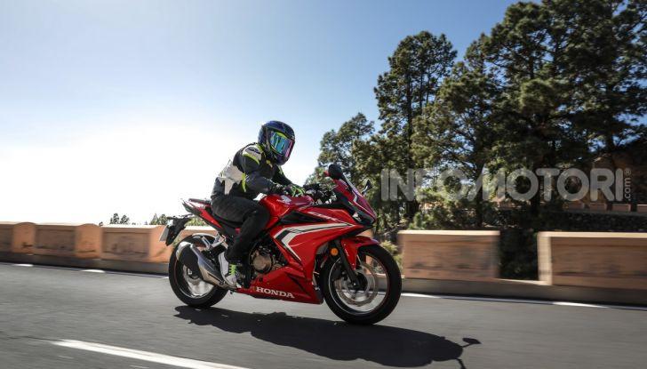 Prova Honda CBR500R e CB500F 2019: caratteristiche, opinioni e prezzi - Foto 107 di 123
