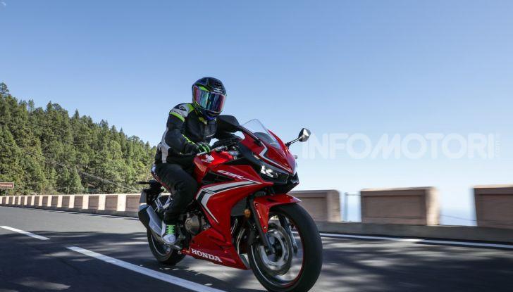 Prova Honda CBR500R e CB500F 2019: caratteristiche, opinioni e prezzi - Foto 108 di 123