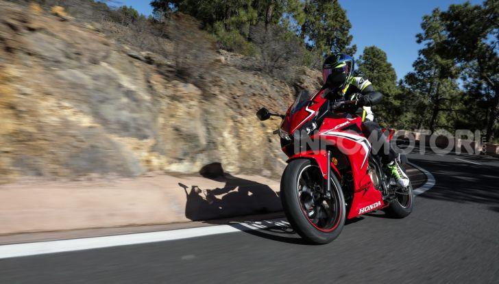 Prova Honda CBR500R e CB500F 2019: caratteristiche, opinioni e prezzi - Foto 109 di 123