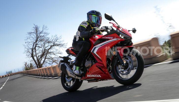 Prova Honda CBR500R e CB500F 2019: caratteristiche, opinioni e prezzi - Foto 110 di 123